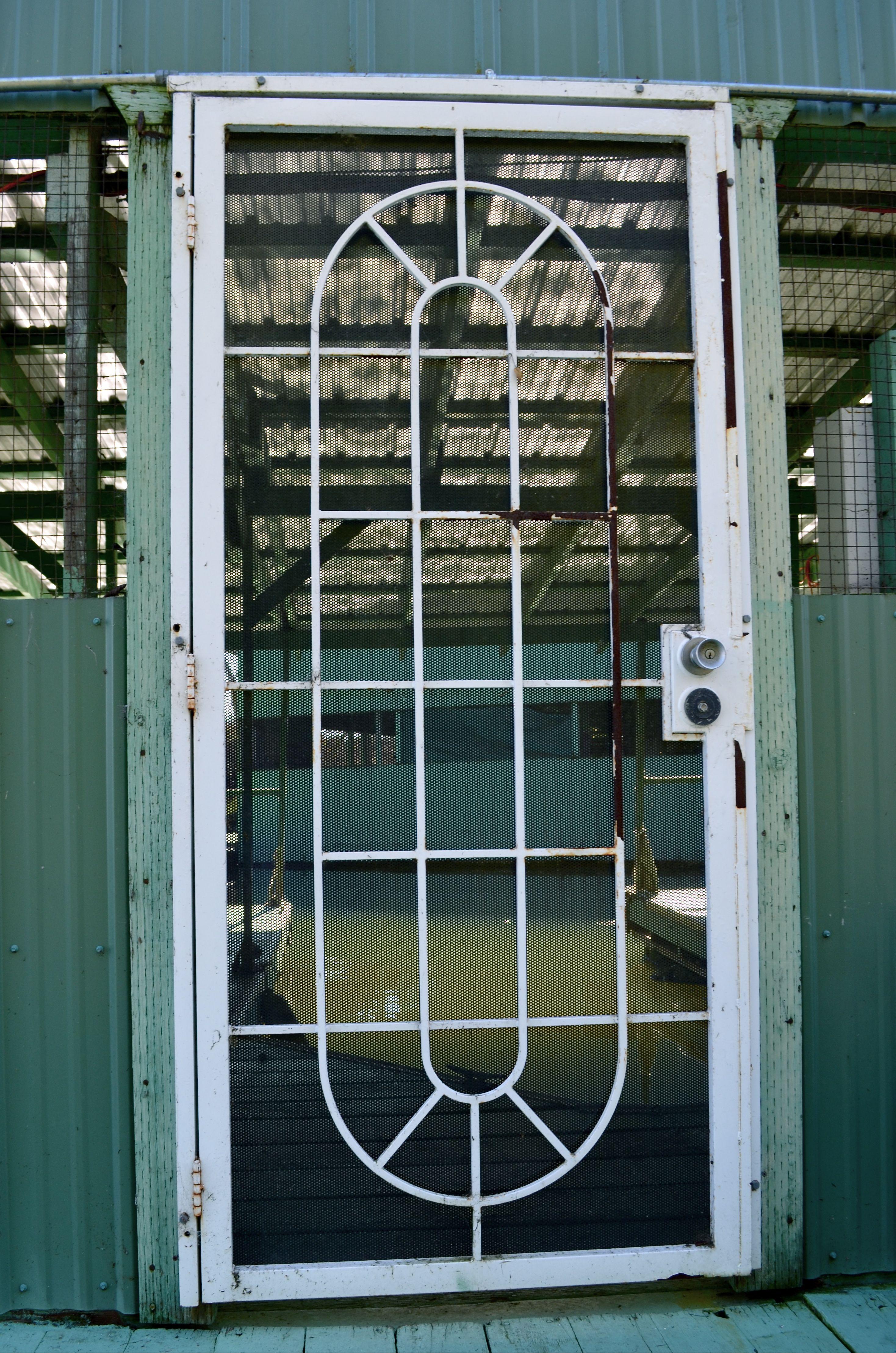 boat dock key door