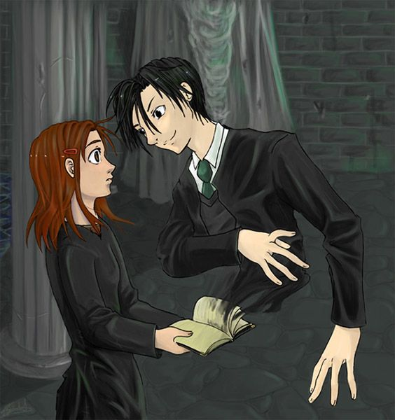 The Last Thing I Remember Ginny Weasley And Tom Riddle Ginny Weasley Tom Riddle Harry Potter Memes