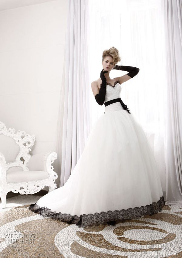 Atelier Aimee Wedding Dresses – Black and White Collection Ball ...