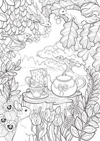 Secret Garden Coloring Page If Youre In The Market For Best Adult Books And Supplies Including Watercolors Colored Pencils