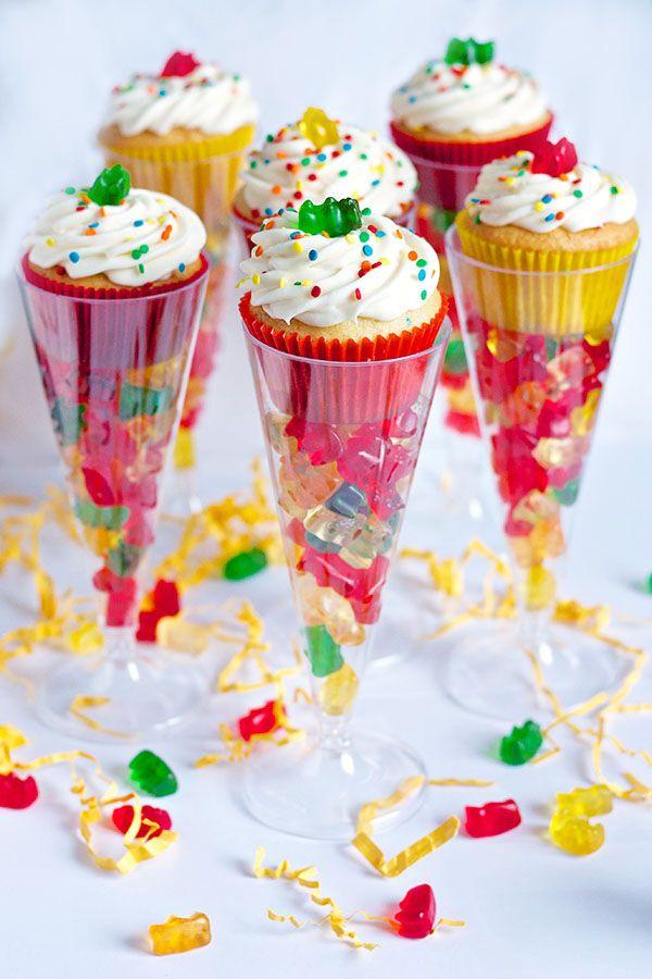 Boozy Gummy Bear Cupcakes Cupcakes Take The Cake Kinder Rezept