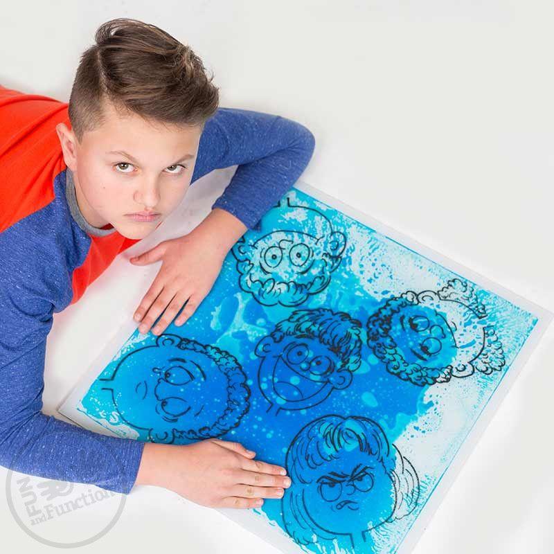 Emotions Gel Floor Tile Emotional Awareness Helping Kids Kids