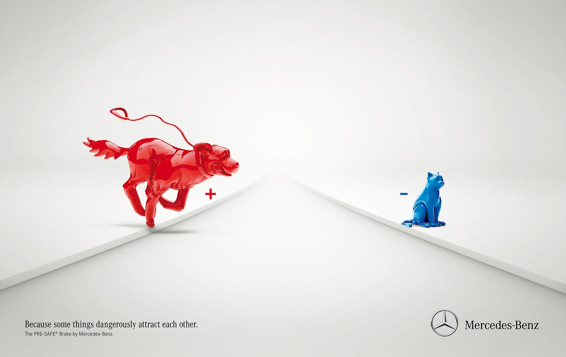 Mercedes-Benz: Pre-safe brake