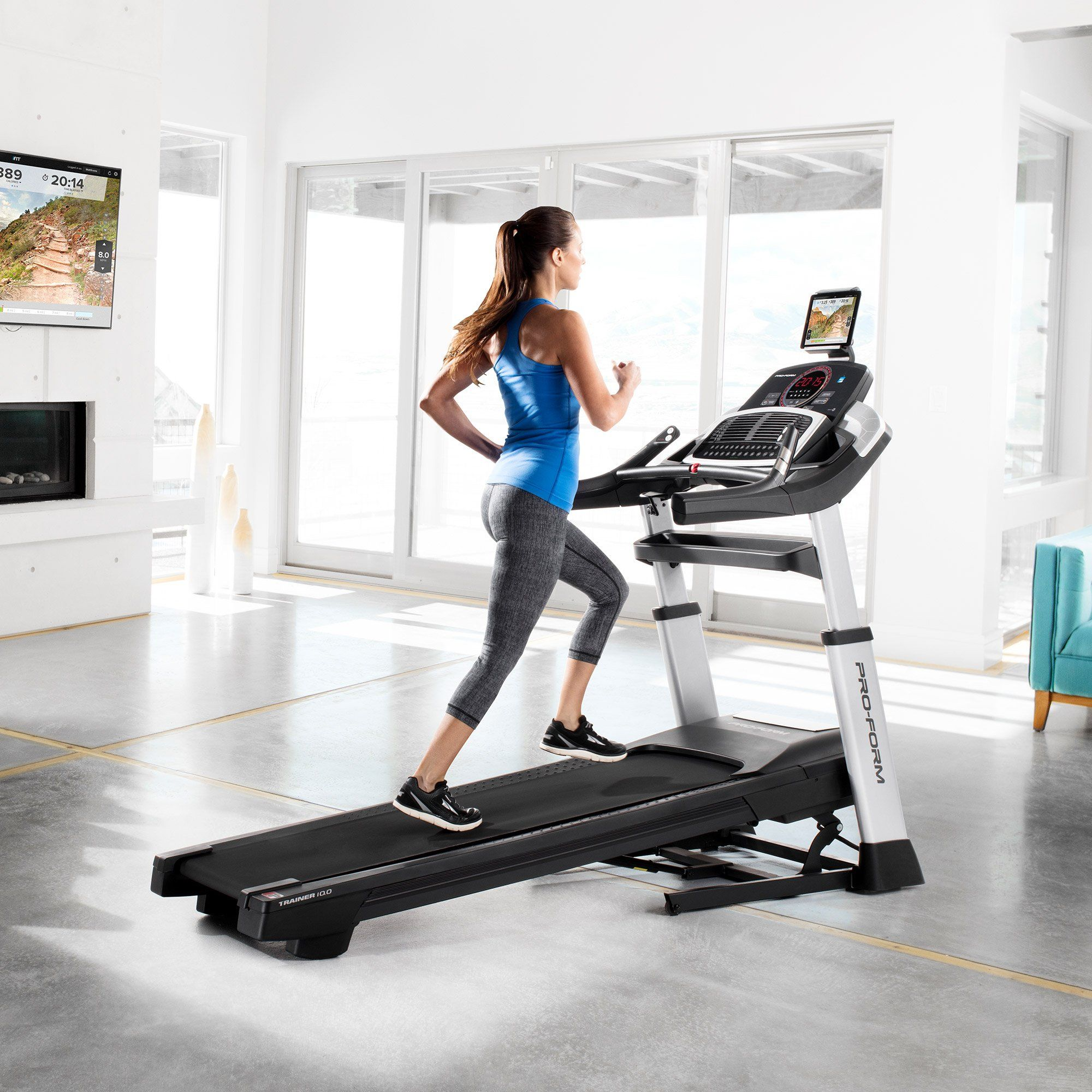 Proform Trainer 10.0 Treadmill with 1Year iFit Coach