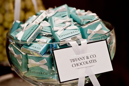 #Tiffany #Chocolate  I don't think I could eat, but just stare at it everyday! :-)