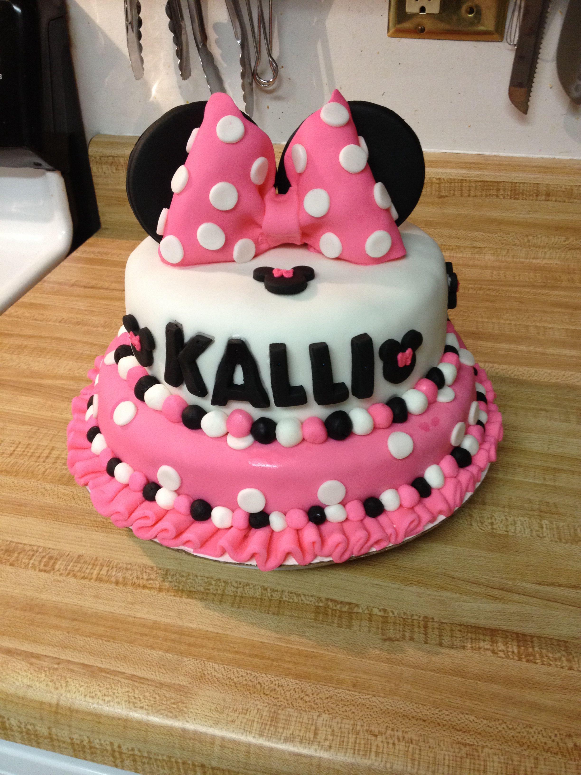 Minnie mouse kuchen