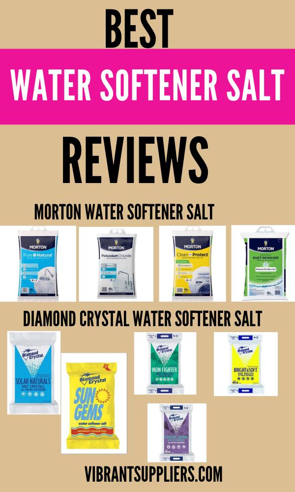 Best Water Softener System Salt Review And Buyers Guide Softener Salt Water Softener Water Softener Salt