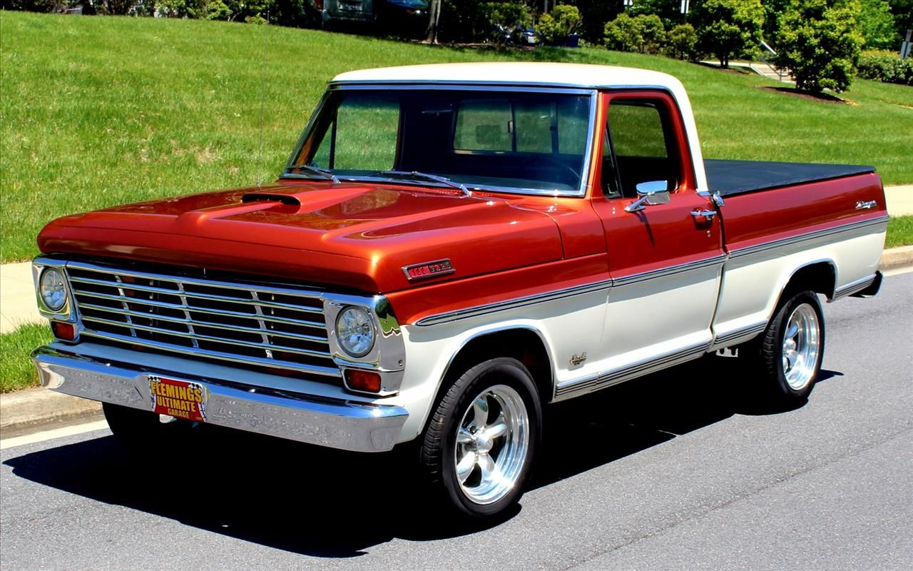 This 1967 Ford F100 is listed on for