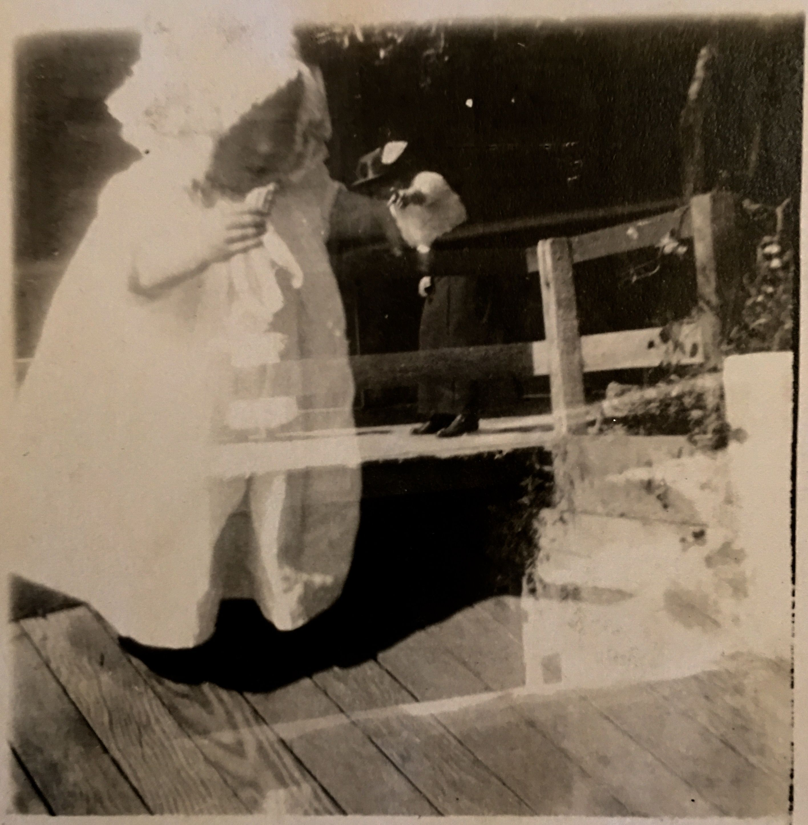 No Place Like Baby.  Anonymous photo, circa 1910, collection of Terry Castle.