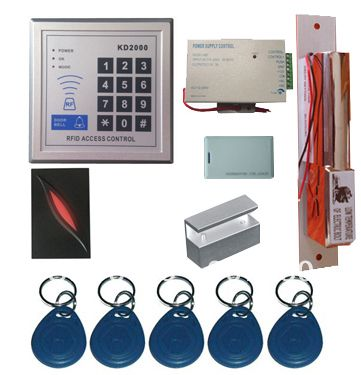 New Upgrade 3 000 Users Complete Standalone Rfid Door Access Control System Kit With Bolt Lock Affiliate Access Control Access Control System Bolt Lock