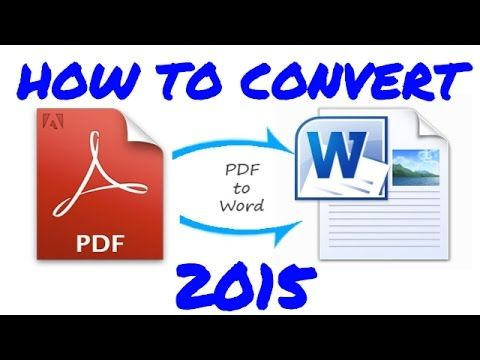 3 Ways to Convert a PDF to a Word Document - wikiHow