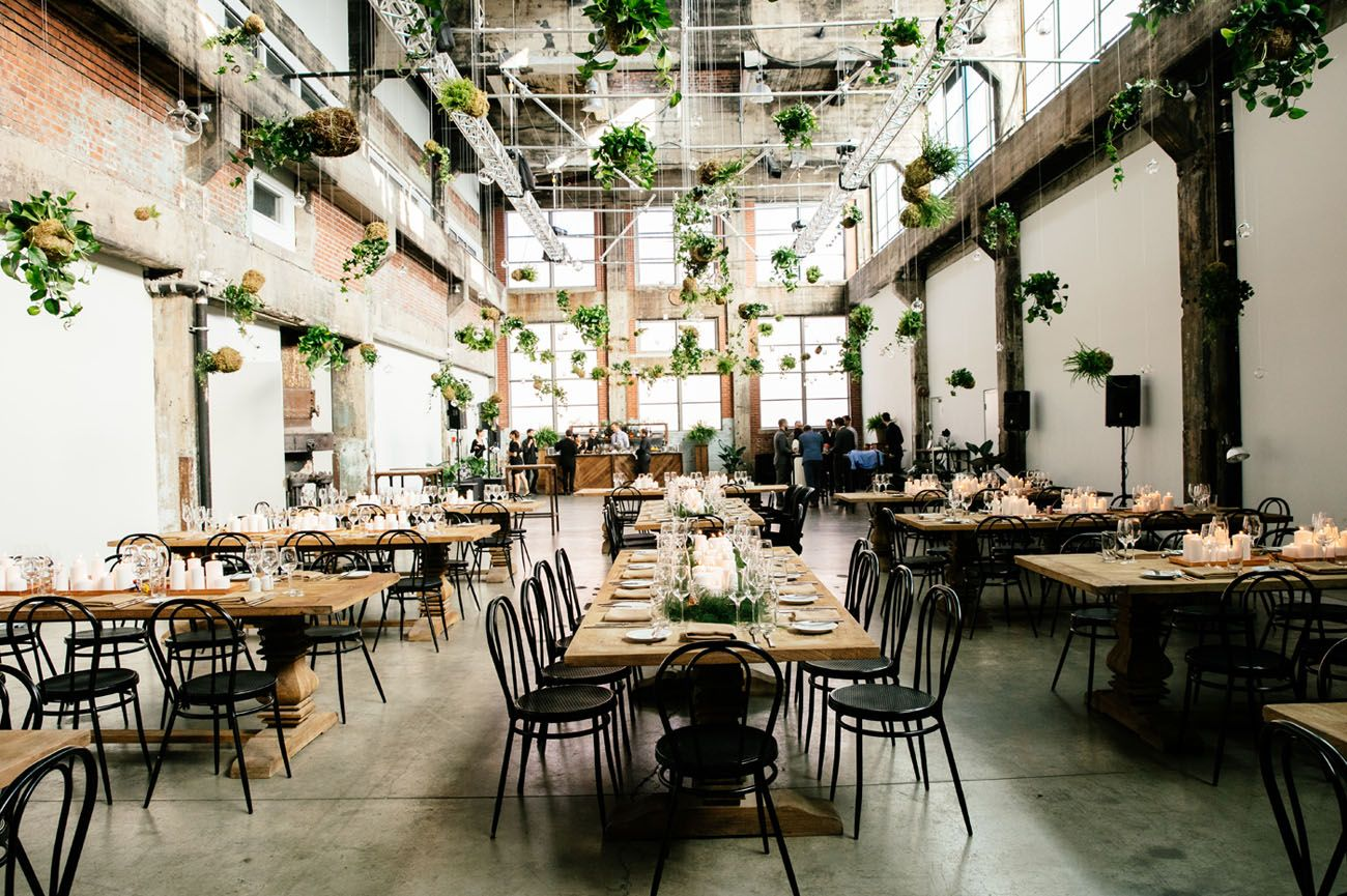Nyc Meets Montreal For This Industrial Urban Wedding