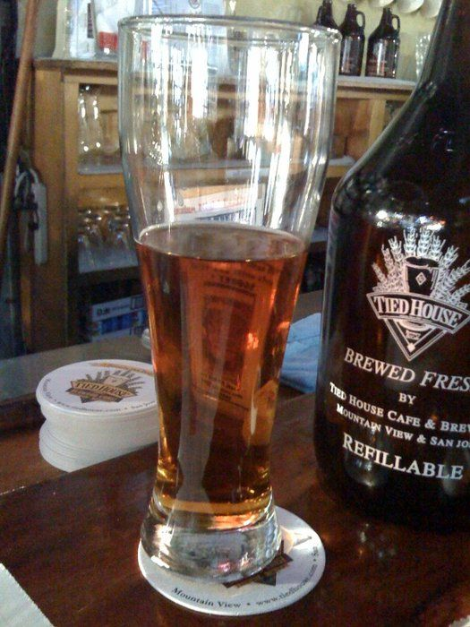 Tied House American Brewery Mountain View Ca Amber Light