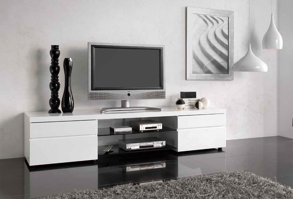 This Modern TV Stand Will Not Leave You And Your Guests Indifferent. The TV  Stand