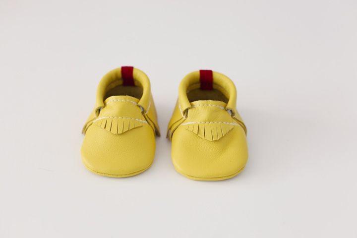 The moccasins are made out of Genuine Leather. All moccasins are handcrafted with love. Made in Michigan USA.FAAS moccasins are especially designed to fit snug around the child's feet,they all have a elastic at the opening . All moccasins are easy to put on and easy to take off.All Moccasins are made with a soft sole. Wonderful for Newbies, crawlers and for those who love to explore the world on their own feet.*********Each Moccasins is hand made for you when you order, so...