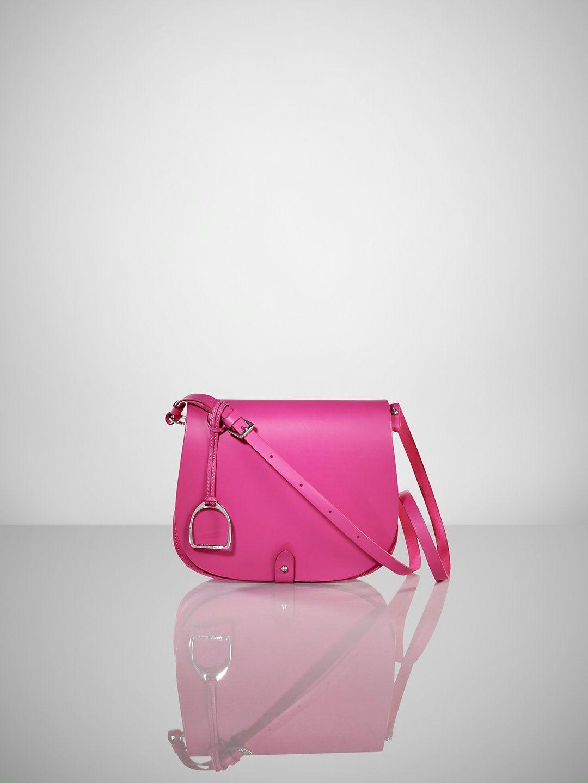 Equestrian Vachetta Saddle Bag - Ralph Lauren Handbags Handbags -  RalphLauren.com 327eb48fa7