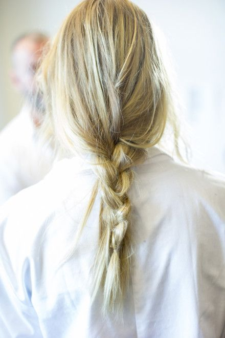 Golden Girls and Great Braids: Spotted Backstage at Michael Kors
