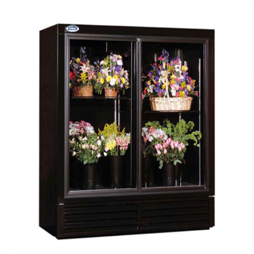 Powers Fs52gd 52 Coolers For Sale Floral Display Display Refrigerator