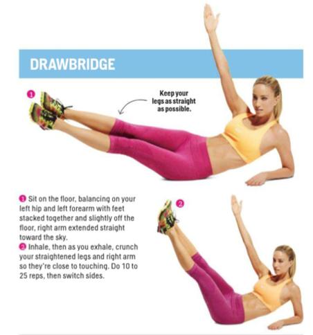 corps souple et ferme  bodyweight workout total body