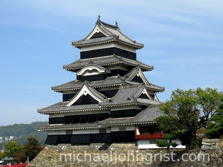 matsumoto castle in nagano is one of the few remaining original castles in japan a fort was first built at the site in then in 1550 the takeda clan under - Traditional Castle 2016