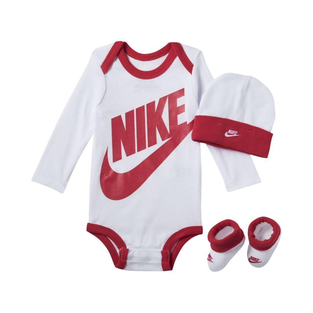 18066adc9e Nike Futura Infant Boys' Three-Piece Set Size 0-6M (Rush Pink)