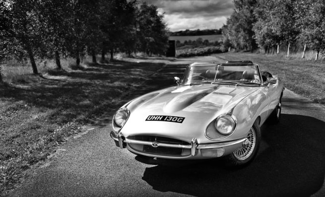 Jaguar car photography and car photography