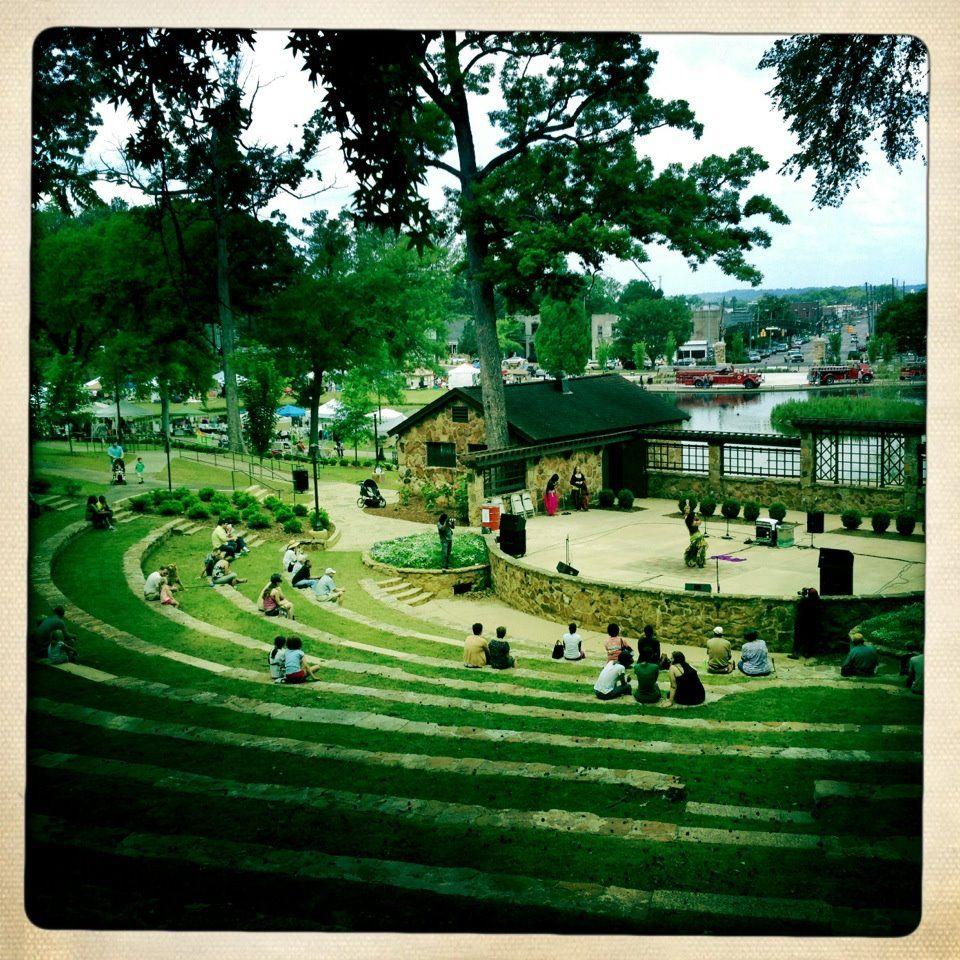 Avondale Birmingham Al: The Beautiful Avondale Park Amphitheatre I Grew Up Here