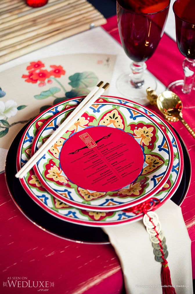 The East Comes the Wind——15 Chinese Style Wedding Ideas