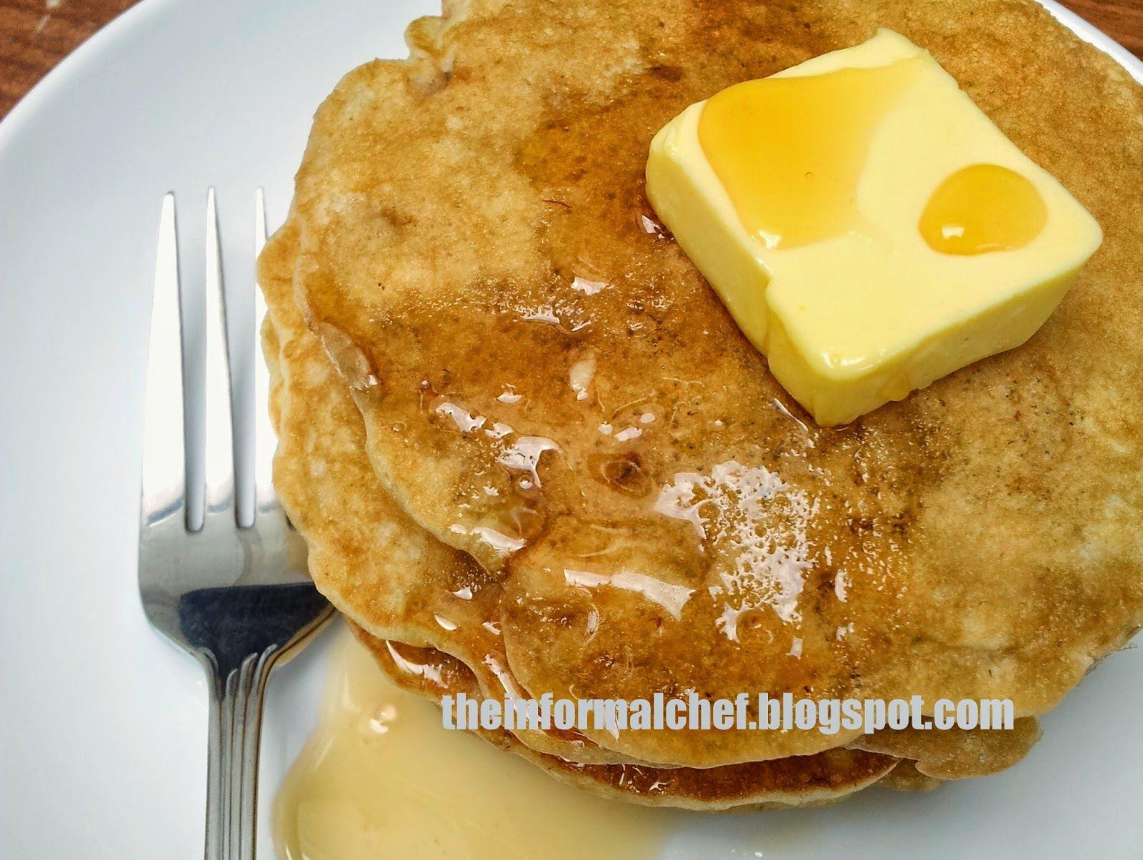 The Informal Chef: Banana Pancakes