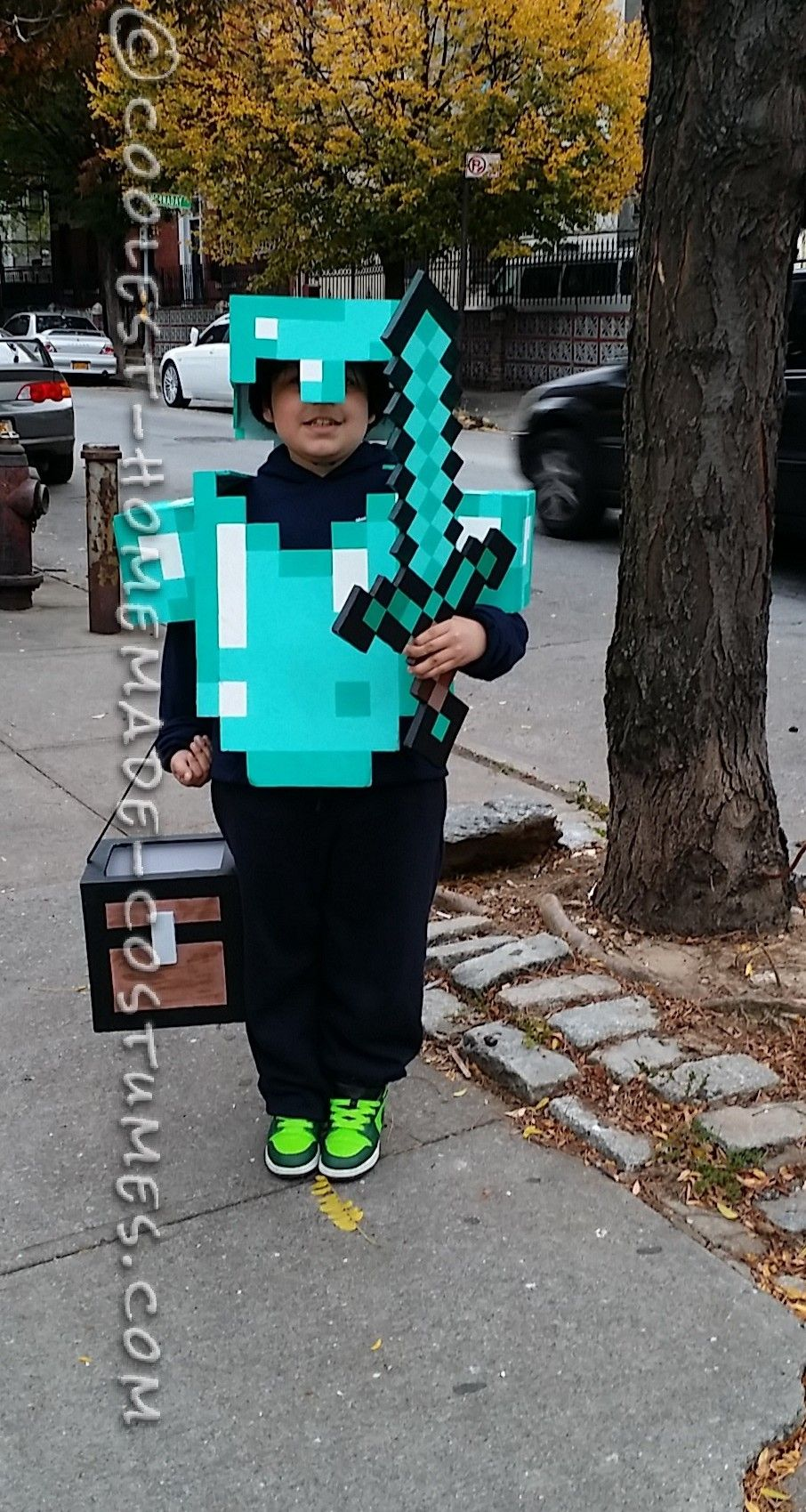 Awesome Minecraft Costume for a Boy | Halloween costume contest ...