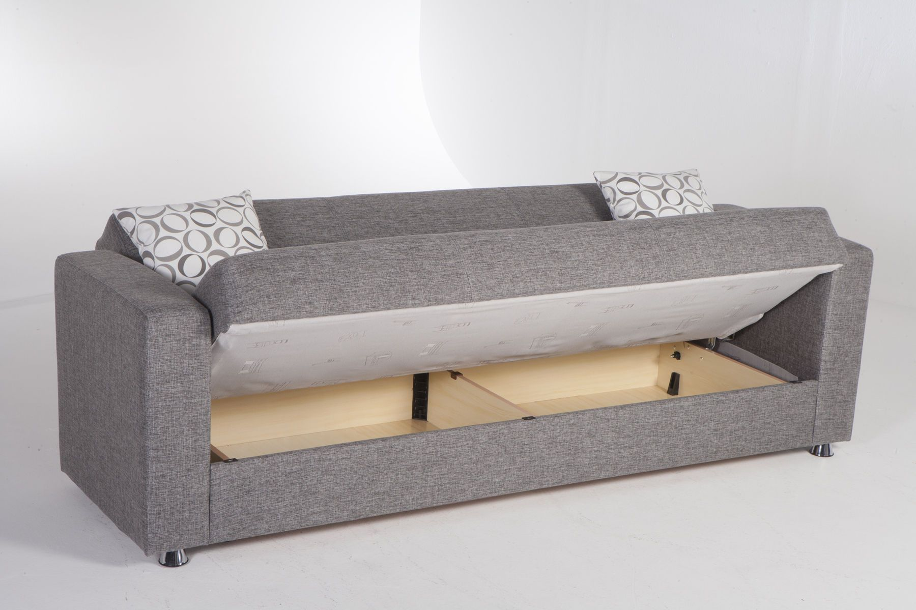 Tokyo Image Gray Sofa Tokyo 6227d Istikbal Fabric Sofas Sofa Bed With Storage Convertible Couch Fold Out Couch