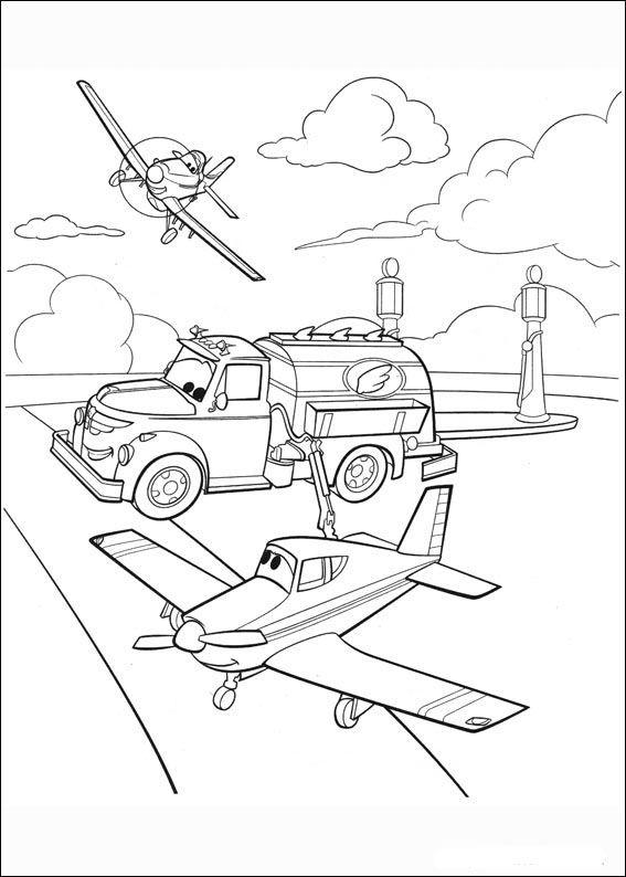 Planes Ausmalbilder. Malvorlagen Zeichnung druckbare nº 74 ...