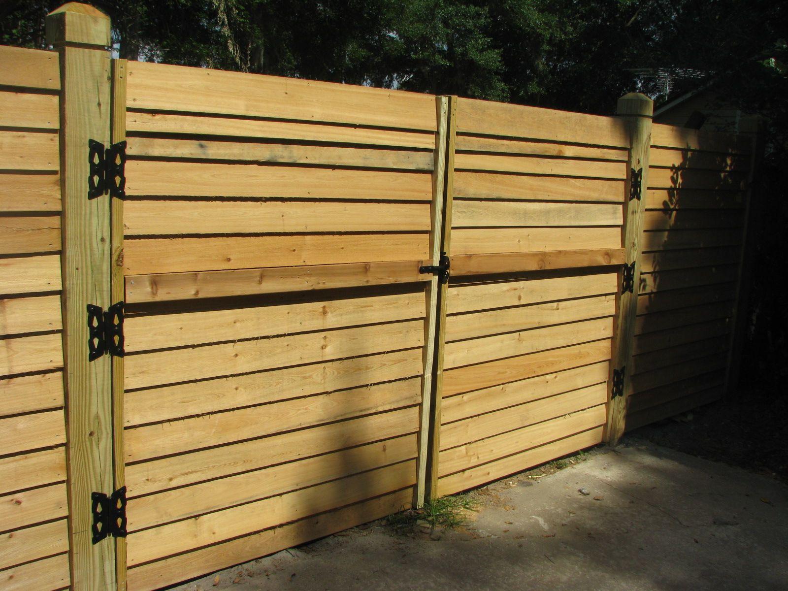 Horizontal Wood Fence Gate custom horizontal wood fence gatemossy oak fence company