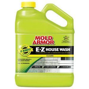 Damp Rid Fg503 Mold Armor House Wash Gallon By Damp Rid 17 99 Cleans Wood Vinyl Stucco And Brick Siding Mold Armor House Wash Mold Remover Mildew Stains