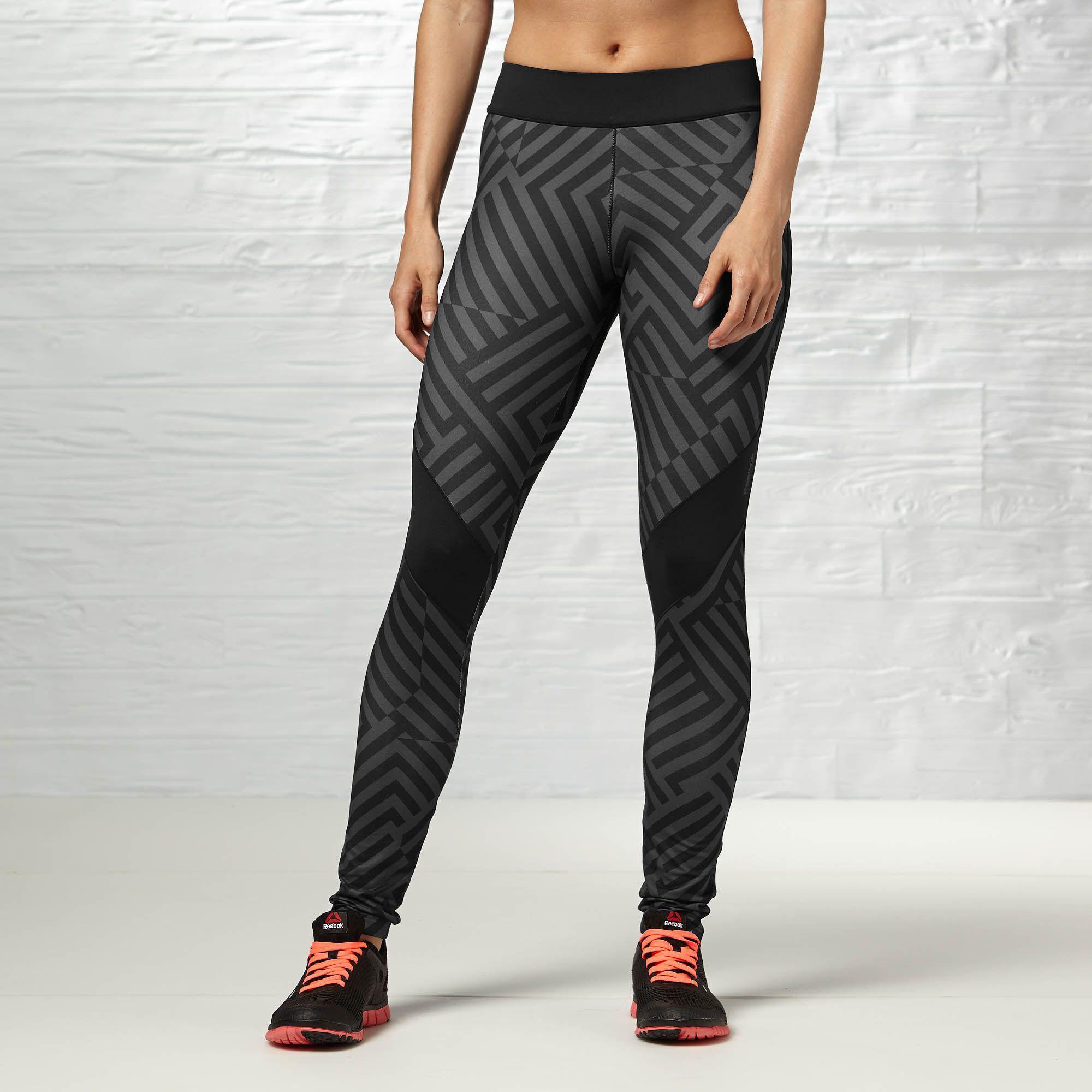 Reebok Urban Active Pat Legging Reebok Gb Clothes For Women Clothes Reebok Women