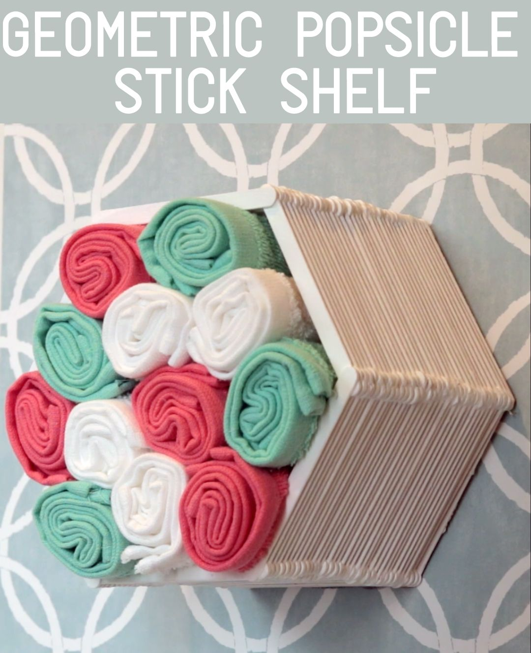 Make A Shelf Out Of Popsicle Sticks And Glue I 39 D Probably