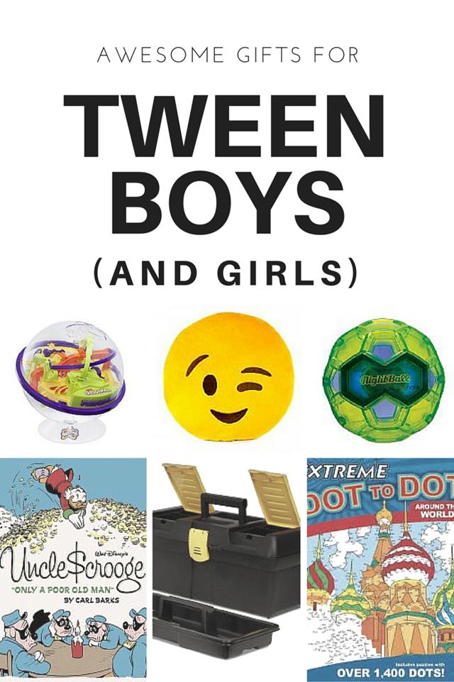 16 Gift Ideas for Tween Boys (and Tween Girls Too!) | Christmas ...