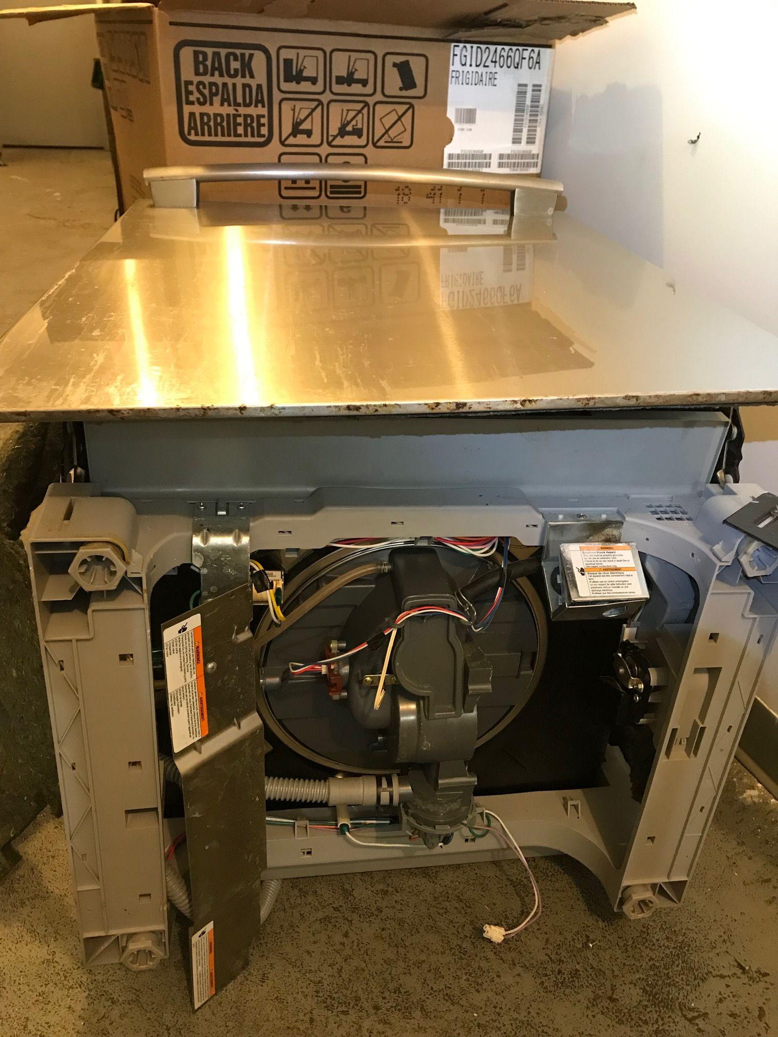 Frigidaire dishwasher repair fphd2491kf0