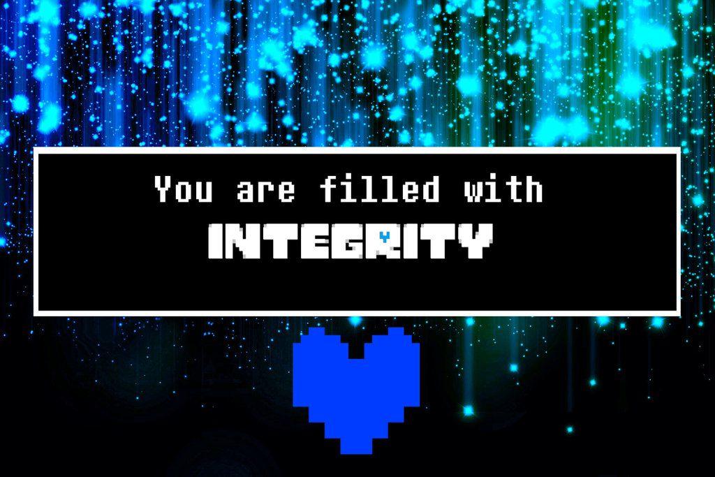 Integrity Wallpaper By Luxkirigaya Undertale Souls Undertale Undertale Comic