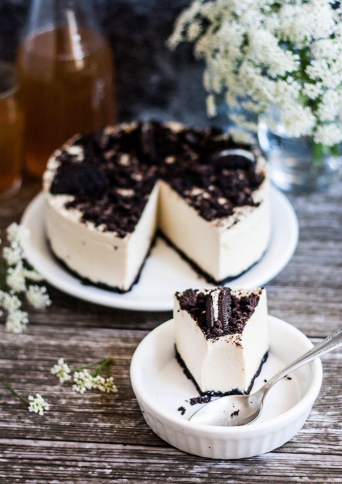 Mniumniu Kuchnia Roslinna Tofurnik Na Zimno Z Oreo Desserts Baking Vegan Sweets