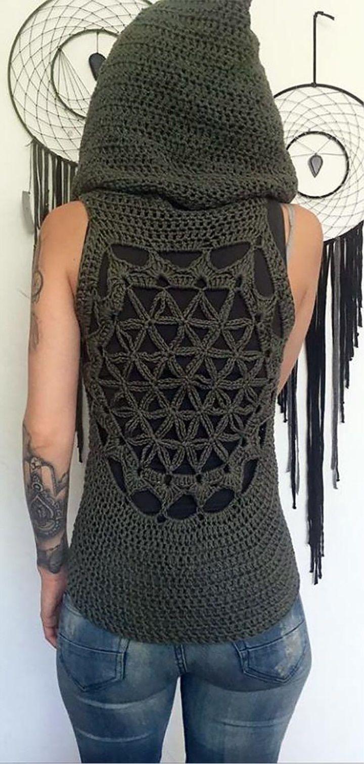 Crochet Vest Concept 2019 #crochetclothes