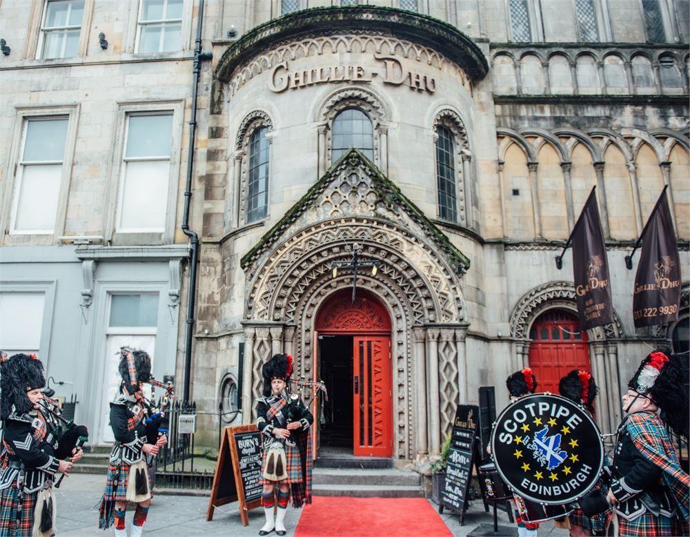 Ghillie Dhu Wedding Venue Edinburgh Lothian Borders