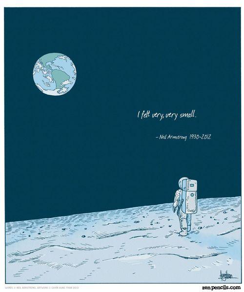 Illustration: Zenpencils | Space Galactic [Inspiration] | Pinterest ...