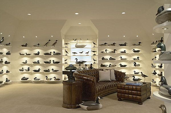 Room Filled With Duck Decoys My Husband Would To Have This