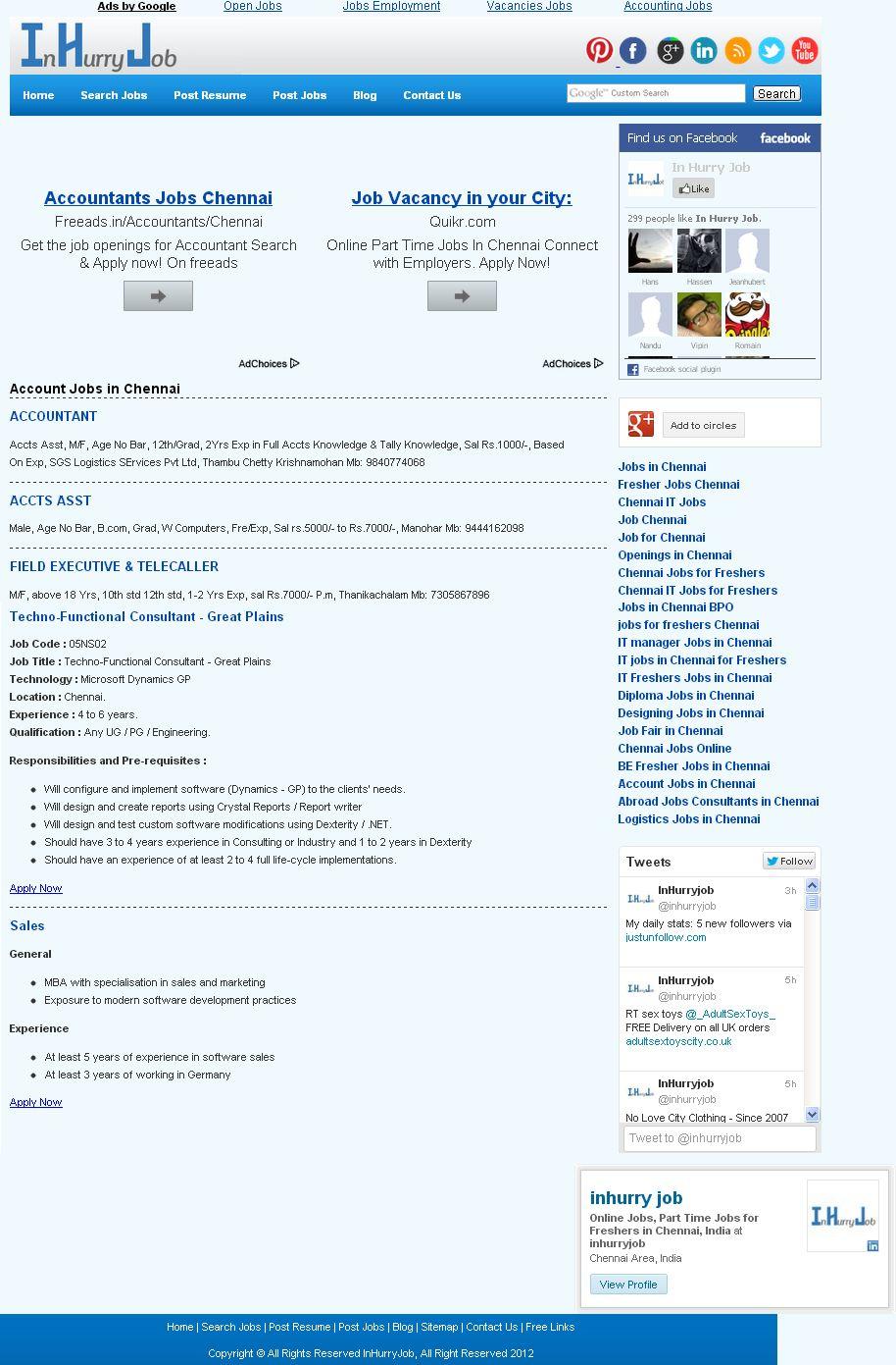 Pin by inhurryjob on inhurryjob Accounting jobs, Job