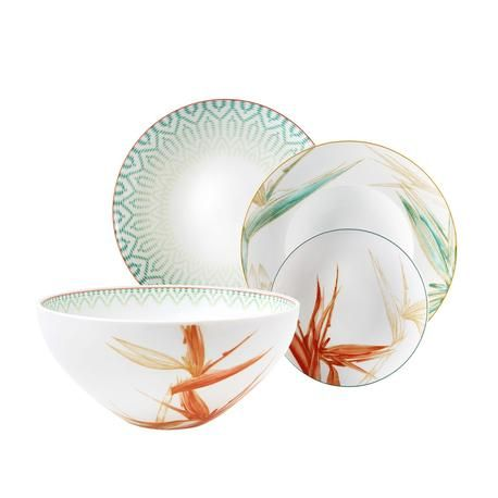 Looking for a set trendy dishes from Asian taste? Newformsdesign offers the best price the beautiful Fiji by Vista Alegre plates.  sc 1 st  Pinterest & Foto Dinner Set 66 pieces Vista Alegre Collection Fiji ...