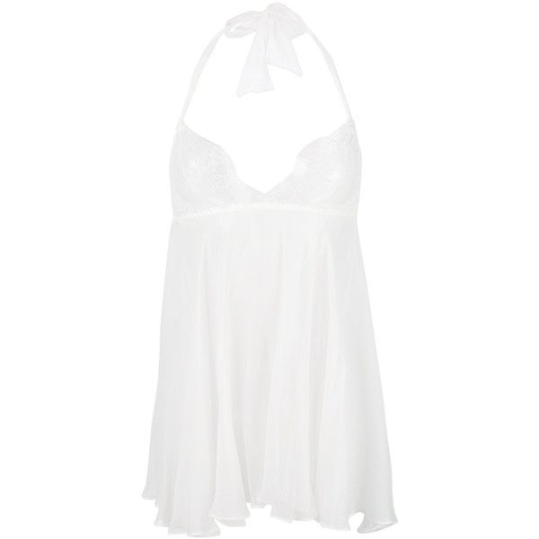 Gilda & Pearl Lovers Of Montparnasse Babydoll ($323) ❤ liked on Polyvore featuring intimates