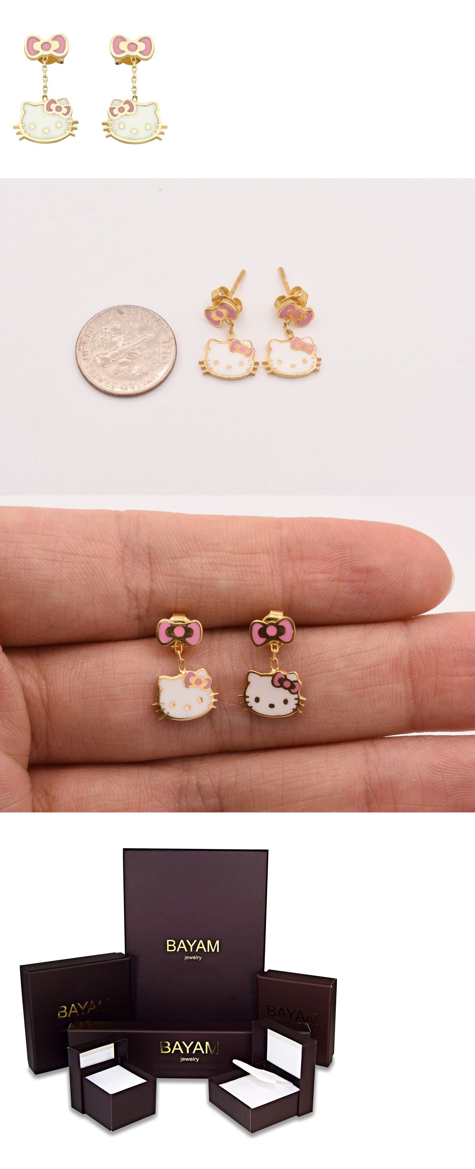 earrings shipping glitz goldplated watches crystal children on childrens and overstock enamel jewelry s free butterfly over orders product molly gold