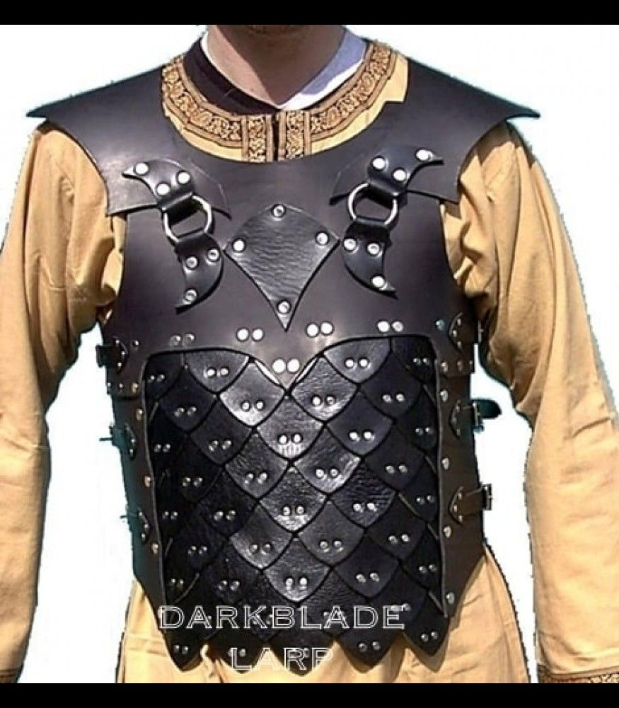 Dragon Armour Dragon Armor Leather Armor Studded Leather Armor Corporate blazer with bulletproof lining (outer torso) set. pinterest
