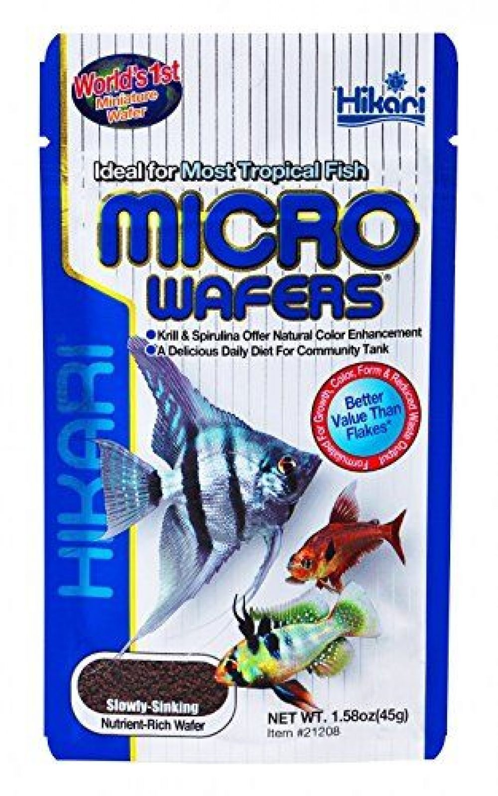 Hikari Tropical Micro Wafers Price 823875 Free Shipping Beingindie Fish Recipes Tropical Food Wafer